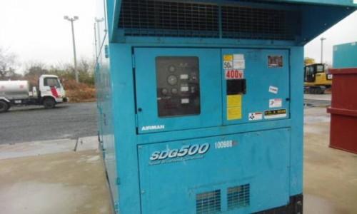 Máy phát điện 550kva