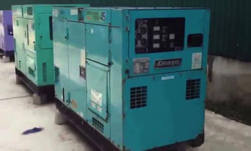 Máy phát điện cũ 45kva Denyo | May phat dien cu 45kva